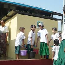 ミャンマーへ井戸を設置