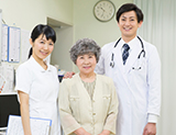医療機関との連携による万全のバックアップ体制